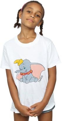 Disney Girls Dumbo Classic Dumbo T-Shirt 9-11 Years White