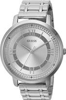 GUESS GUESS? Women's Quartz Stainless Steel Casual Watch, Color:Silver-Toned (Model: U0933L1)