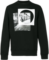 Diesel Black Gold circle print sweatshirt
