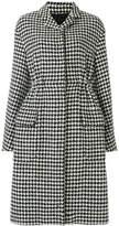 Giambattista Valli houndstooth pattern coat