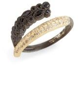 Armenta Old World Diamond & Sapphire Wrap Ring