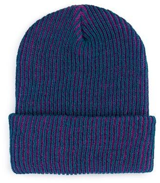 Verloop Simple Rib Hat Teal/Magenta