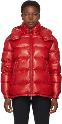 Moncler Red Down Maire Coat