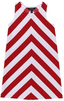 Polo Ralph Lauren Chevron stretch-ponte dress