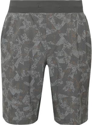 Lululemon T.H.E. Printed Swift Shorts - Men - Gray
