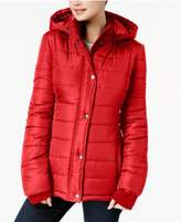 Rampage Juniors' Hooded Puffer Coat, Created for Macy's