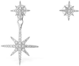 Apm Monaco Meteorites Asymmetrical Earrings