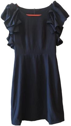 Non Signã© / Unsigned Navy Silk Dresses