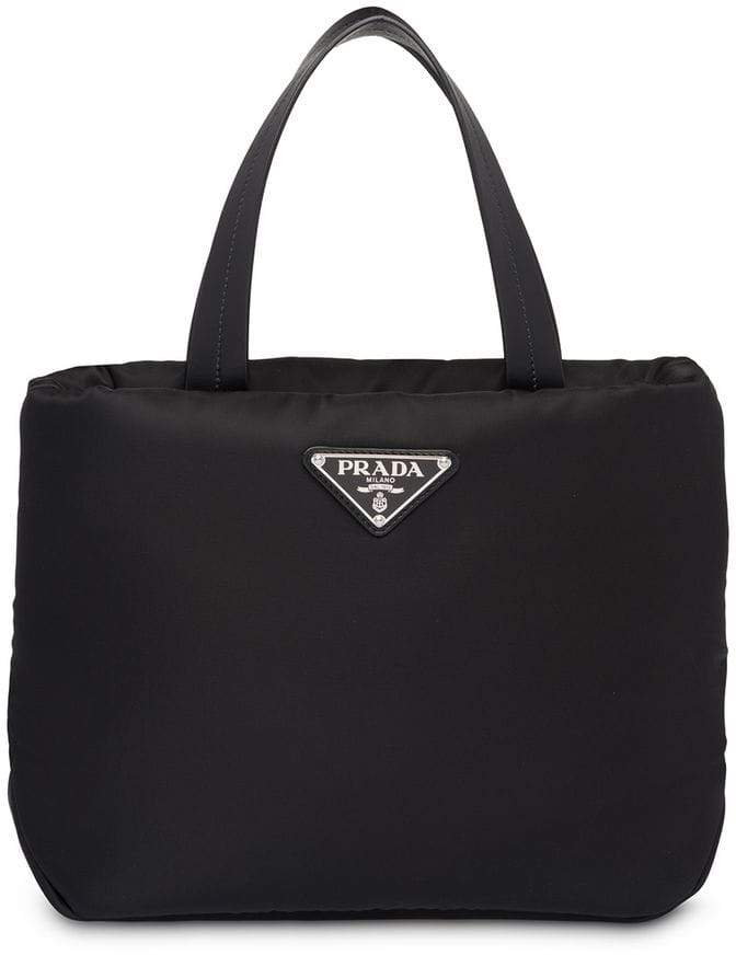 c6ce357225e9 Prada Nylon Tote Bag - ShopStyle