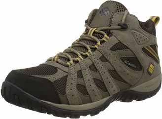 Columbia Men's Redmond Mid Waterproof Boot Breathable High-Traction Grip Hiking
