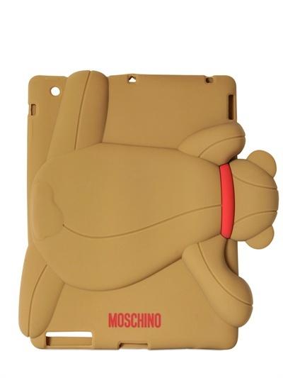 Moschino Gennarone Teddy Bear Silicon Ipad 2 Case