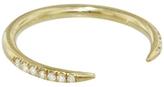 WWAKE Micro Pavé Diamond Open Slice Ring