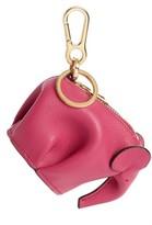 Loewe Women's Elephant Bag Charm - Pink