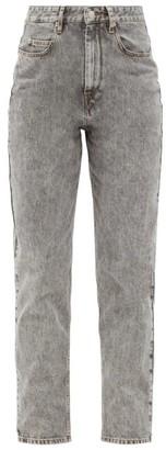 Etoile Isabel Marant Corsysr High-rise Boyfriend Jeans - Grey