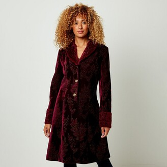 Joe Browns Printed Button-Down Coat