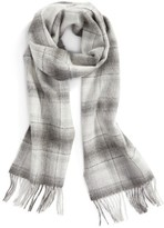 Nordstrom Women's Ombre Plaid Cashmere Scarf