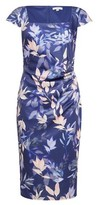 Dorothy Perkins Womens **Lily & Franc Navy Floral Print Square Neck Bodycon Dress