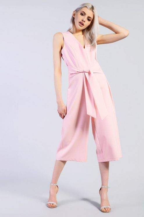 Glamorous Womens **Tie Jumpsuit by Tall