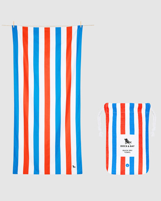 Dock & Bay Large Beach Towel 100% Recycled Summer Collection