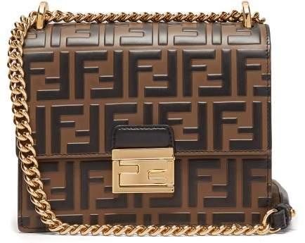 e3d0c8d4 Kan I Small Ff Embossed Leather Cross Body Bag - Womens - Black Multi