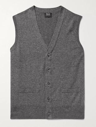 William Lockie - Oxton Cashmere Sweater Vest - Men - Gray