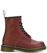 Dr. Martens classic 1460 boots - women - Cotton/Leather/rubber - 40