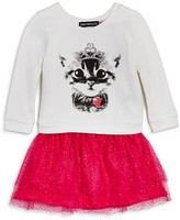 Bloomie's Infant Girls' Cat Graphic Tutu Dress - Sizes 12-24 Months- 100% Exclusive