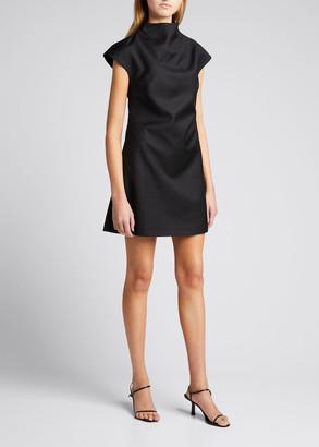 ANNA QUAN Karla Wool Mini A-Line Dress