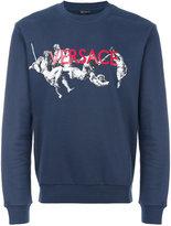 Versace painted sweatshirt - men - Cotton - S
