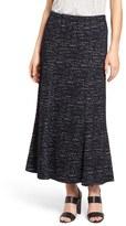 Nic+Zoe Tweed Jacquard Long Skirt
