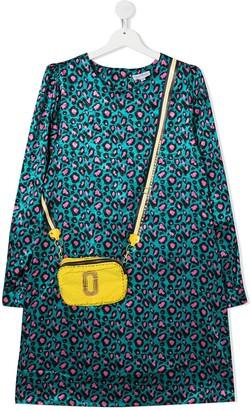 The Marc Jacobs Kids TEEN leopard-print shift dress