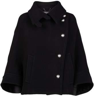 Chloé Wool-Blend Cape Coat