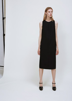 Jil Sander black desert dress