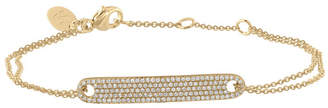 Pave Diamond (1/3 ct. t.w.) Id Bracelet in 14K Yellow or White Gold