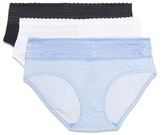 Warner's Blissful Benefits By Blissful Benefits by Women's No Muffin Top w/ Lace Hipster, 3-Pack