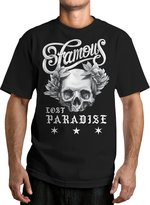Famous Stars & Straps Men's Laurel Skull Graphic T-Shirt-Large