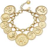 Kate Spade Gold-Tone Multi-Coin Bracelet