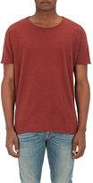 Nudie Jeans Men's Roger Cotton Slub Jersey T-Shirt-RED
