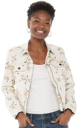 Sonoma Goods For Life Women's Front Zipper Jacket