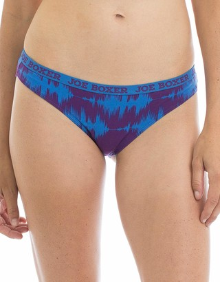 Joe Boxer Women's Roar Bikini Underwear