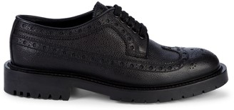 Burberry Alexre Leather Oxfords