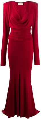 Alexandre Vauthier Draped Design Gown