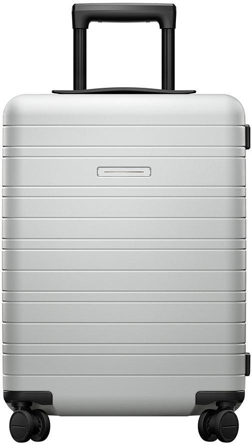 Horizn Studios Smart Hard Shell Suitcase - Light Quartz Grey - Cabin