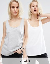 Asos The New Ultimate Tank 2 Pack