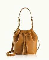 GiGi New York Jenn Bucket Bag Pebble Grain
