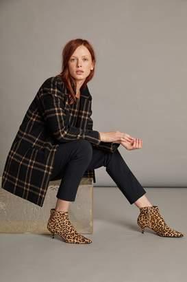 Velvet by Graham & Spencer Jasmann Wool Plaid Coat