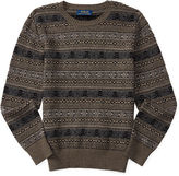 Ralph Lauren Fair Isle Cotton-Blend Sweater