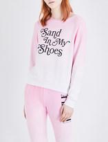 Wildfox Couture Sand In My Shoes fleece sweatshirt