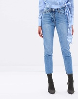 Camilla And Marc Margot Cropped Straight-Leg Jeans