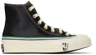 Converse Black Breaking Down Barriers Edition Capitols Earl Lloyd Chuck 70 High Sneakers